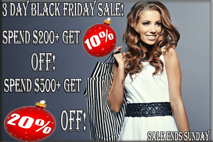 2014 Black Friday Sale At TheLaceWigsStore.com