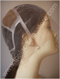 Lace Wig Cap With Stretch and Polystrips