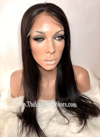 20inch HD Glueless Wig Natural Straight
