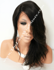14inch-full-lace-glue-less-wig-silk-top-color-1B-or-2