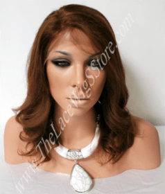 12inch Lace Front Straight Color 4, 2, 1b or 3
