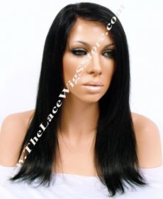 14inch Lace Front Light Yaki Color 1 or 1B