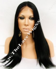 18inch Lace Front Light Yaki Color 1