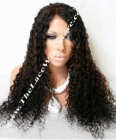 24inch Brazilian Virgin Spanish Curl and Natural Color