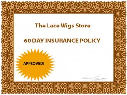 60 day lace wig insurance policy