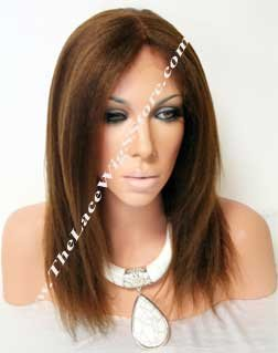 10inch-12inch Lace Front Kinky Straight Color 1, 1B , 2 or 4