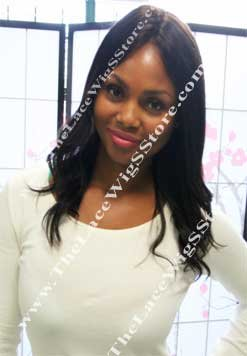 12inch or 14inches Glue-less Full Lace Wig Natural Straight Color 2 or 4