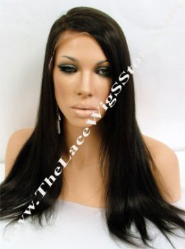 18inch Lace Front Natural Straight Color 2