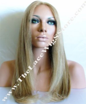 """18"""" Silky Straight Color 8 by 9 Highlights"""