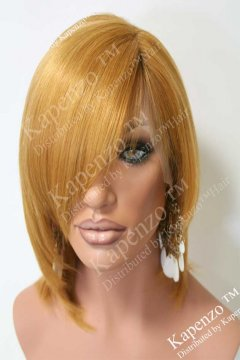 8inch-European-Virgin-Honey-Blonde-Layered-and-Styled-With-Bangs