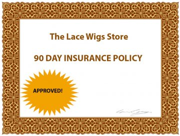 90 day lace wig insurance policy