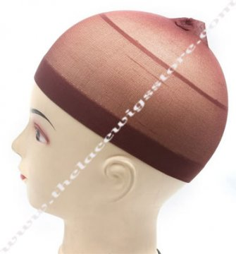 Brown Wig Cap