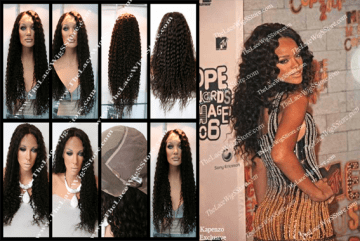 Kapenzo Rihanna Lace Wig