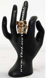 Fashion Teddy Bear Ring