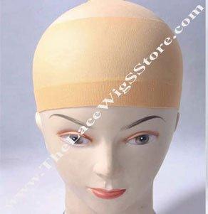 Beige Wig Cap
