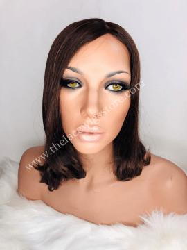 11inch European Virgin Glueless Wig