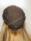 20inch Kosher European Virgin Blonde Glue-less Lace Wig