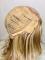 14inch European Blonde Highlight Wig